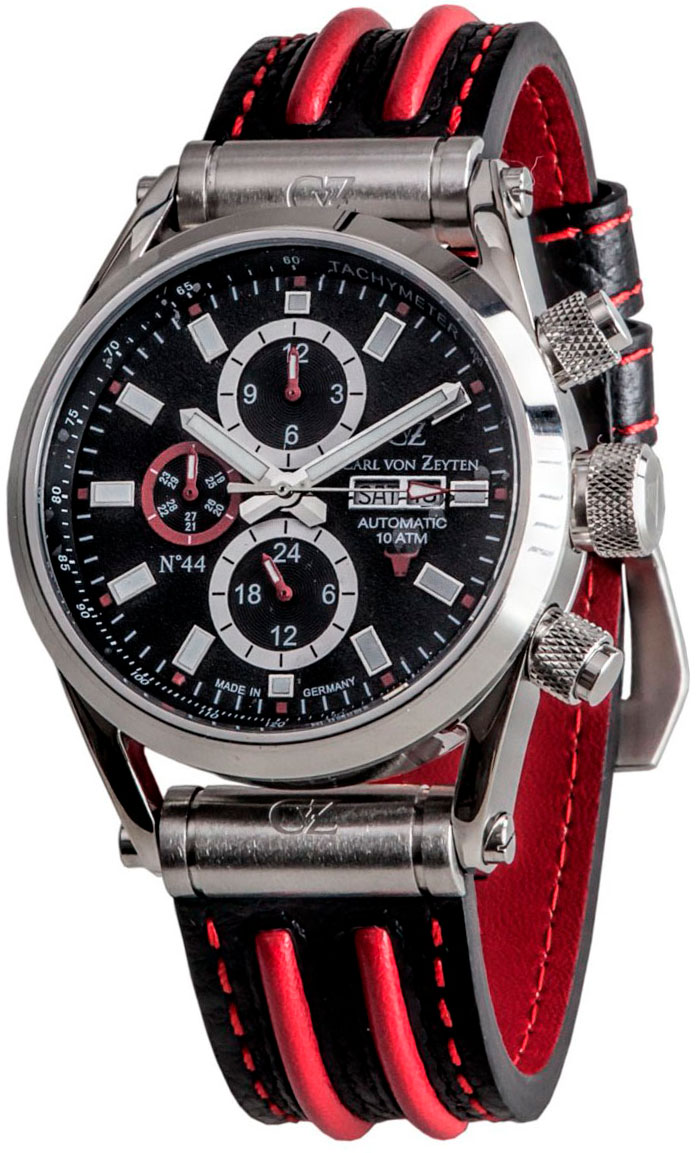 Мужские часы Carl von Zeyten CVZ0044BKRD