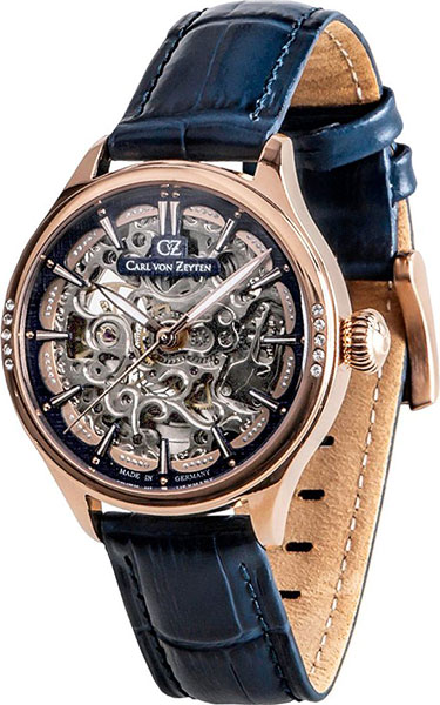 Женские часы Carl von Zeyten CVZ0057RBL