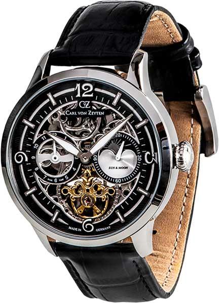 Мужские часы Carl von Zeyten CVZ0058BK automatic watch hugo von eyck часы элитные