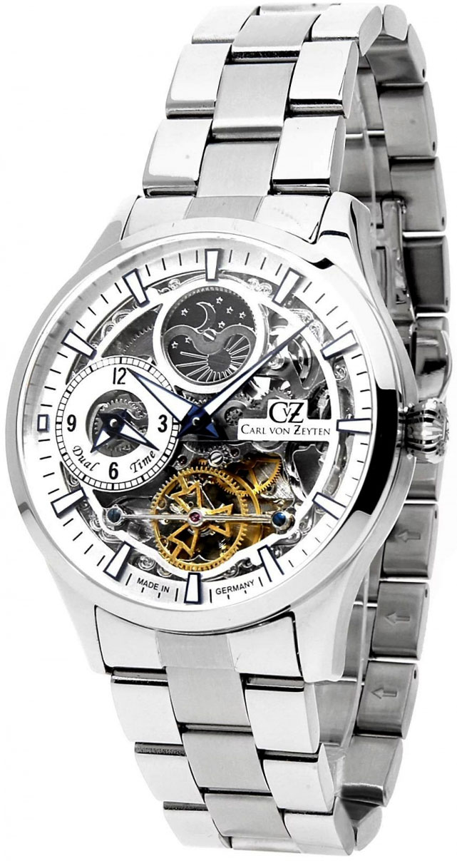 Мужские часы Carl von Zeyten CVZ0063SLMB