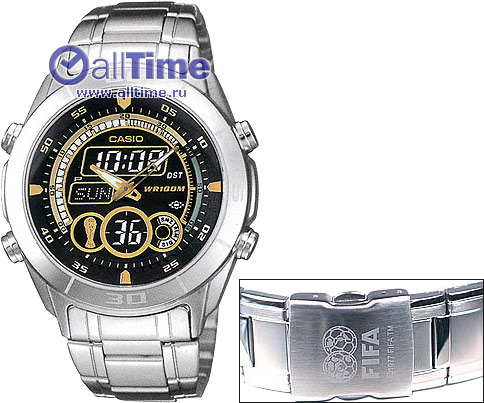 Часы Casio Edifice EFA-115D-1A1 - youlaio