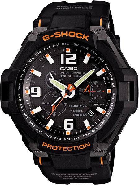 Купить Наручные часы GW-4000-1A  Мужские японские наручные часы в коллекции Radio Controlled Casio G-SHOCK