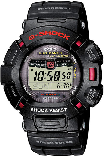 Мужские японские наручные часы в коллекции Radio Controlled Casio G-SHOCK AllTime.RU 9590.000