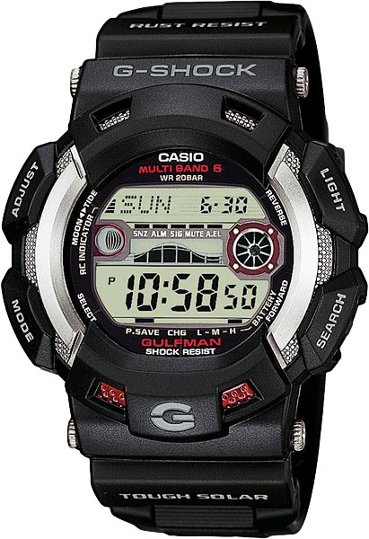 Мужские японские наручные часы в коллекции Radio Controlled Casio G-SHOCK AllTime.RU 10990.000