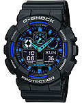 ������� �������� �������� ���� Casio G-SHOCK � ��������� ����������, ������ GA-100-1A2