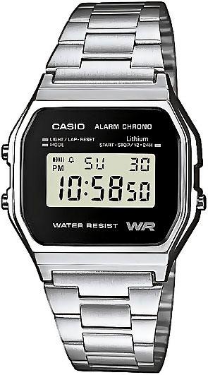 Мужские часы Casio A-158WEA-1E часы casio collection a 158wea 1e grey