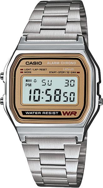 Мужские часы Casio A-158WEA-9E casio casio mq 24 9e