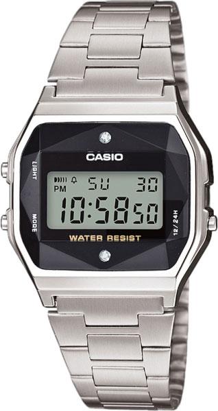 Мужские часы Casio A-158WEAD-1E цена и фото
