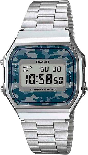 Мужские часы Casio A-168WEC-1E casio prw 3500y 1e
