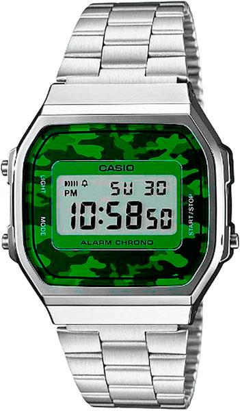 лучшая цена Мужские часы Casio A-168WEC-3E