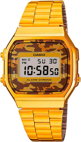 Мужские часы Casio A-168WEGC-5E цена и фото