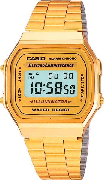 Мужские часы Casio A-168WG-9