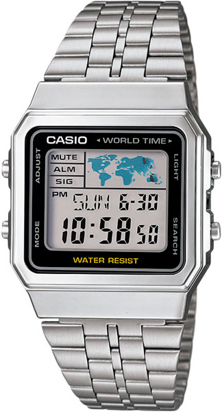 Мужские часы Casio A-500WEA-1E