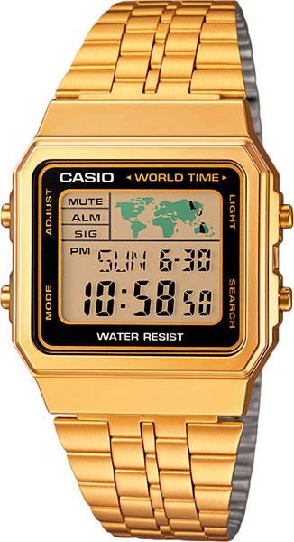 Мужские часы Casio A-500WEGA-1E a 500wega 9e