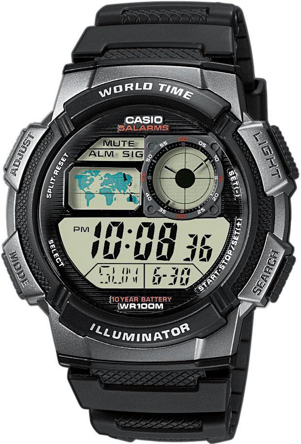 Мужские часы Casio AE-1000W-1B мужские часы casio ae 1000w 4a
