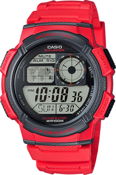 Мужские часы Casio AE-1000W-4A мужские часы casio ae 1000w 4a