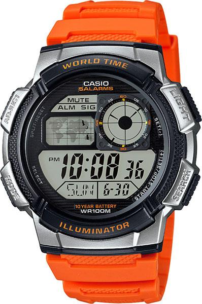 Мужские часы Casio AE-1000W-4B casio ae 1000w 4b