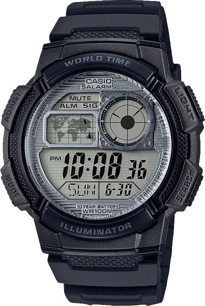 Мужские часы Casio AE-1000W-7AVEF мужские часы casio ae 1000w 4a