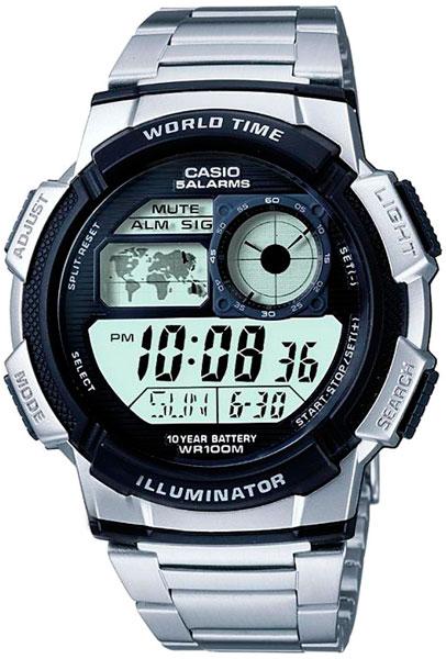 Мужские часы Casio AE-1000WD-1A кардиганы btc кардиган