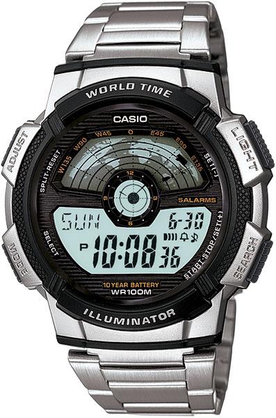 Мужские часы Casio AE-1100WD-1A casio ae 1100wd 1a