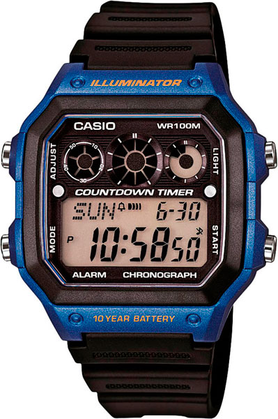 Мужские часы Casio AE-1300WH-2A casio ae 1300wh 2a