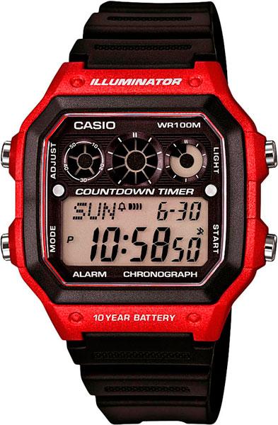 Мужские часы Casio AE-1300WH-4A