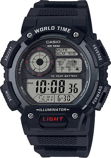 Мужские часы Casio AE-1400WH-1A все цены