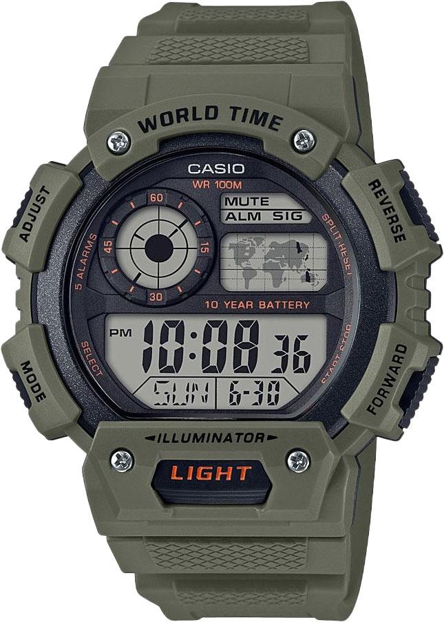 Мужские часы Casio AE-1400WH-3AVEF