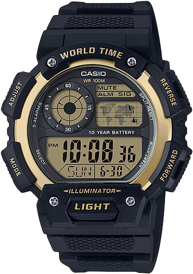 Мужские часы Casio AE-1400WH-9A мужские часы casio ae 2000w 1b