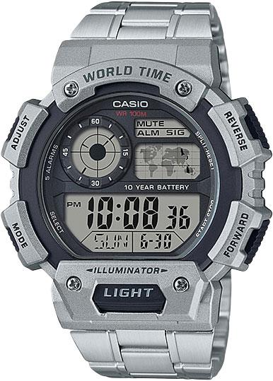 Фото - Мужские часы Casio AE-1400WHD-1A ae 2000w 1a