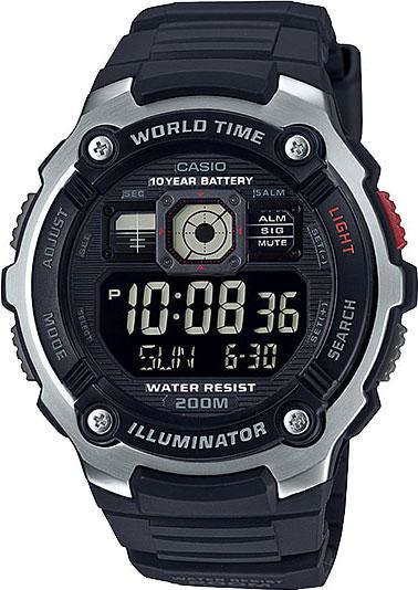 Фото - Мужские часы Casio AE-2000W-1B ae 2000w 1a