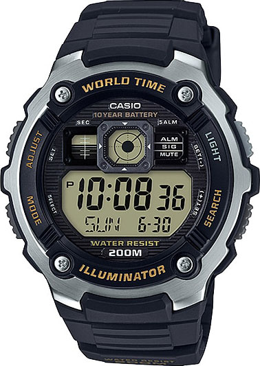 Мужские часы Casio AE-2000W-9A мужские часы casio ae 1000w 4a