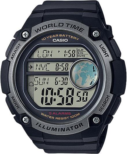 Мужские часы Casio AE-3000W-1A мужские часы casio ae 2000w 1b