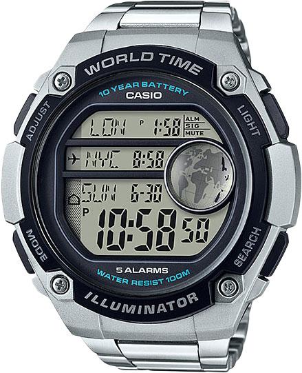 Фото - Мужские часы Casio AE-3000WD-1A ae 2000w 1a