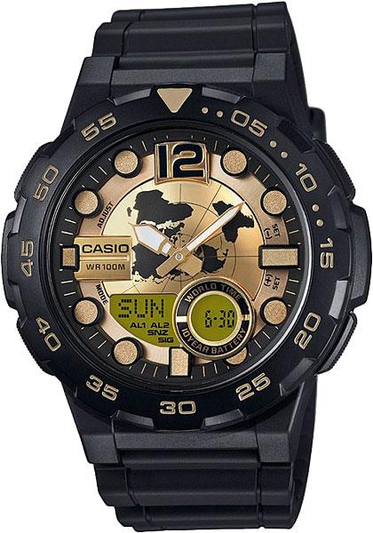 Мужские часы Casio AEQ-100BW-9A все цены