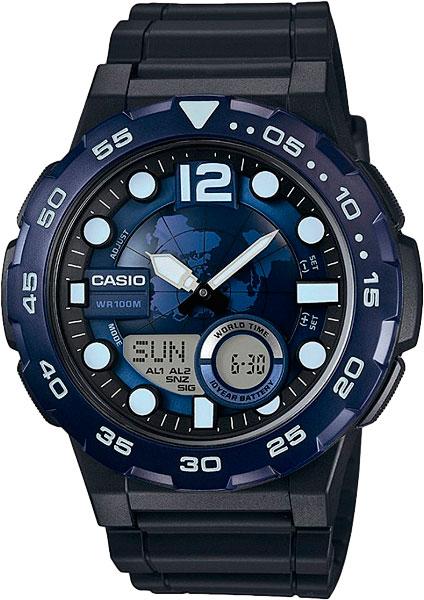 Мужские часы Casio AEQ-100W-2A casio aeq 110w 2a