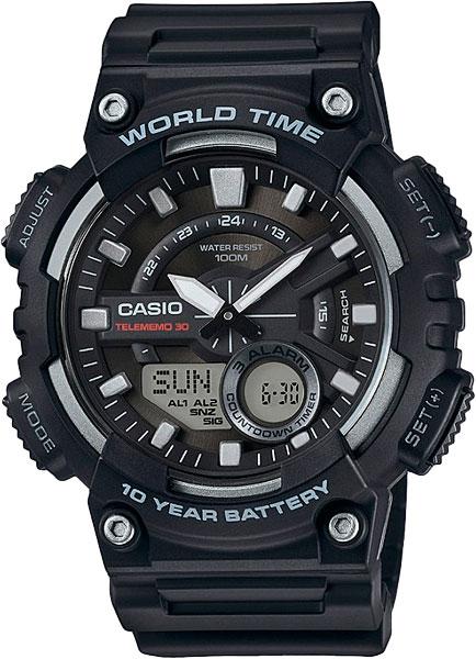 Мужские часы Casio AEQ-110W-1A все цены