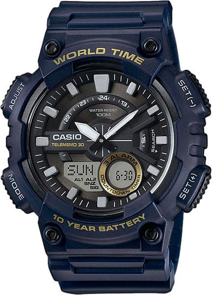 Мужские часы Casio AEQ-110W-2A casio aeq 110w 2a