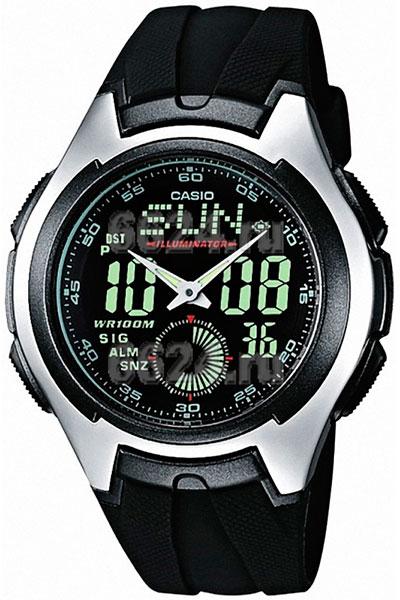 Мужские часы Casio AQ-160W-1B-ucenka