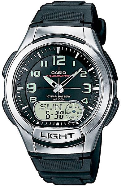 Мужские часы Casio AQ-180W-1B цена