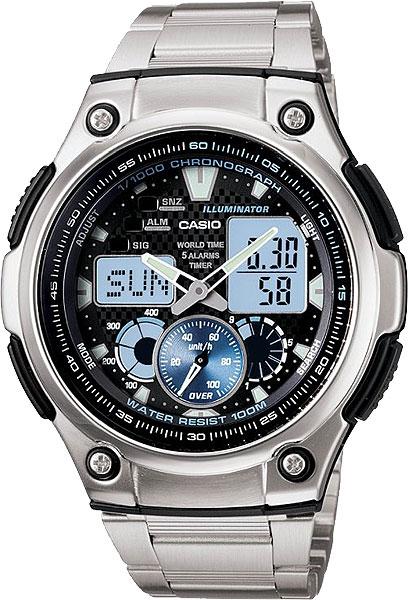 Мужские часы Casio AQ-190WD-1A casio aq 190wd 1a casio