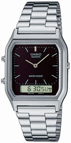 Мужские часы Casio AQ-230A-1D casio pq 31 1d