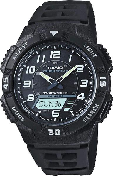 Мужские часы Casio AQ-S800W-1B casio aq s800w 1e