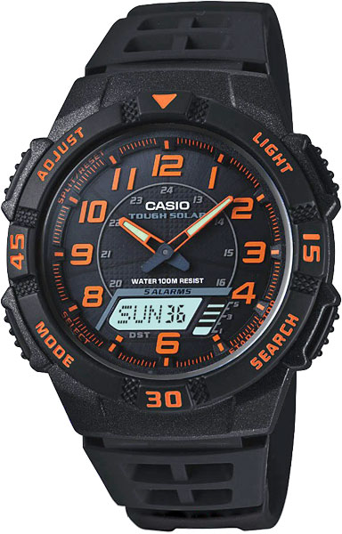Мужские часы Casio AQ-S800W-1B2 casio aq s800w 1b2 casio