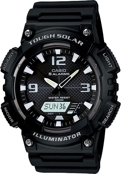 Мужские часы Casio AQ-S810W-1A часы casio aq s810w 1a 1b 2a 3a 1a2 8a 2a2
