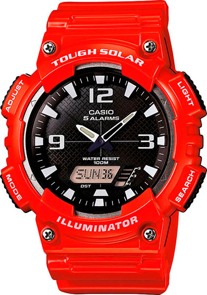 Мужские часы Casio AQ-S810WC-4A casio aq s810wc 7a