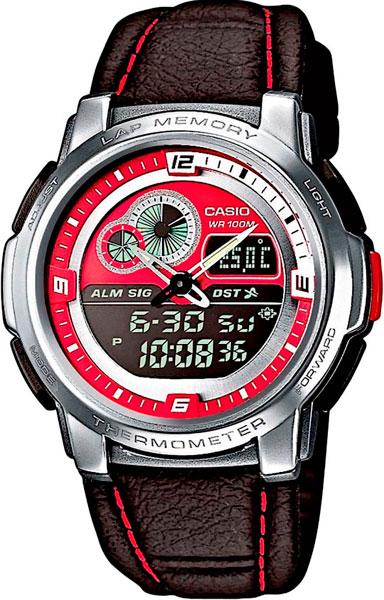 где купить Мужские часы Casio AQF-102WL-4B по лучшей цене