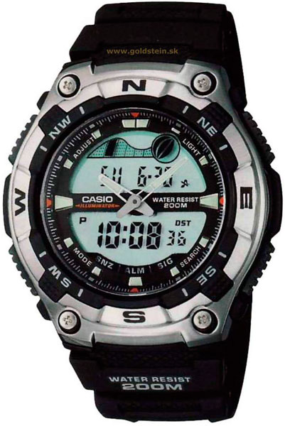 где купить  Мужские часы Casio AQW-100-1A  по лучшей цене