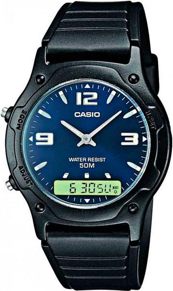 Мужские часы Casio AW-49HE-2A casio aw 49he 2a