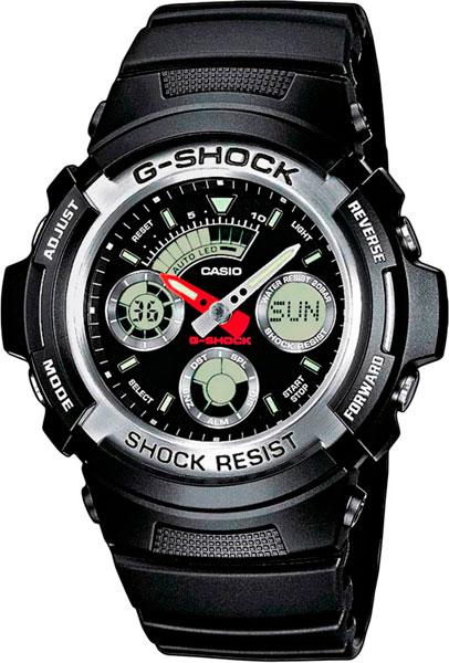 лучшая цена Мужские часы Casio AW-590-1A